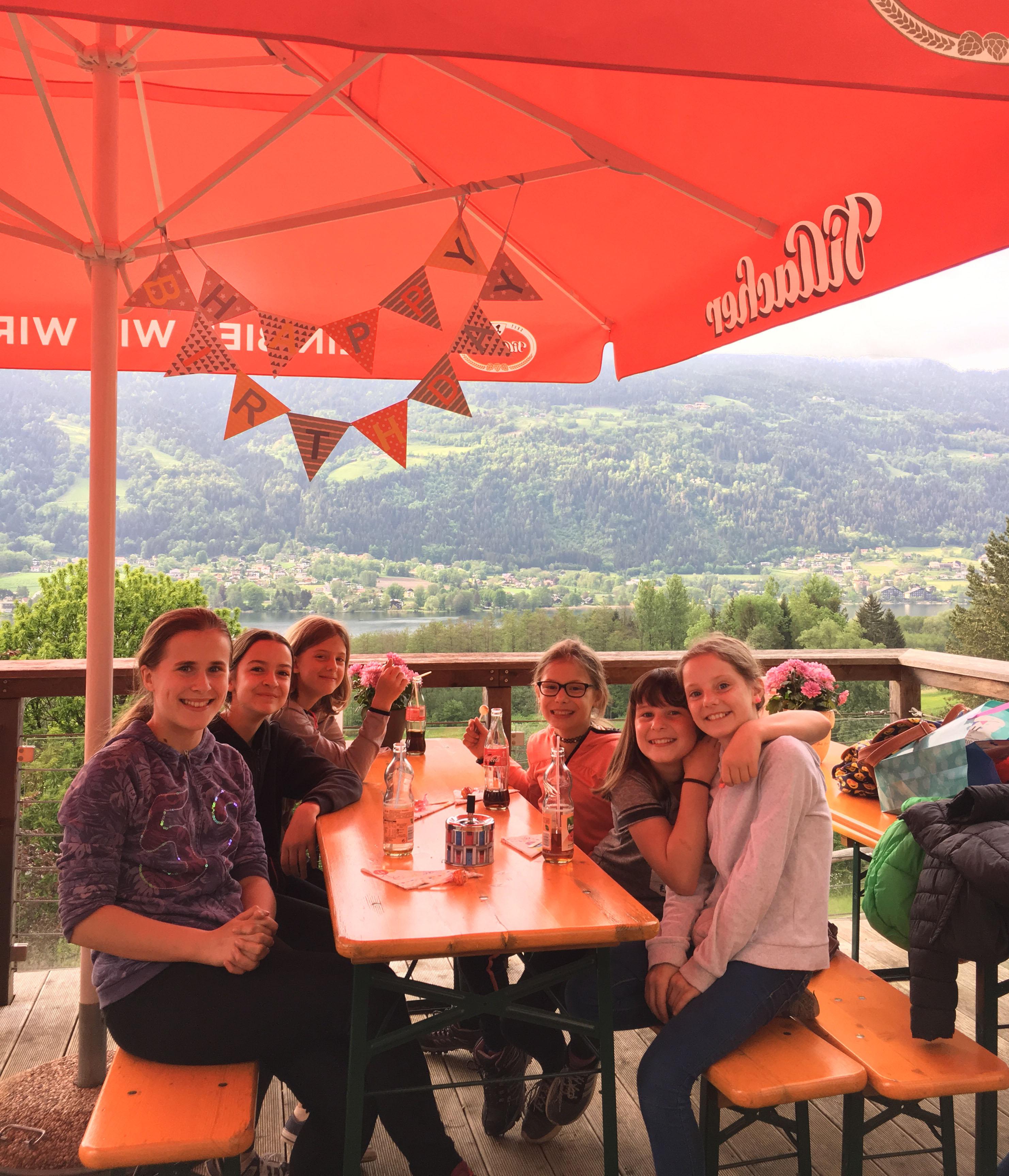 Happy Birthday im Kletterwald Ossiacher See